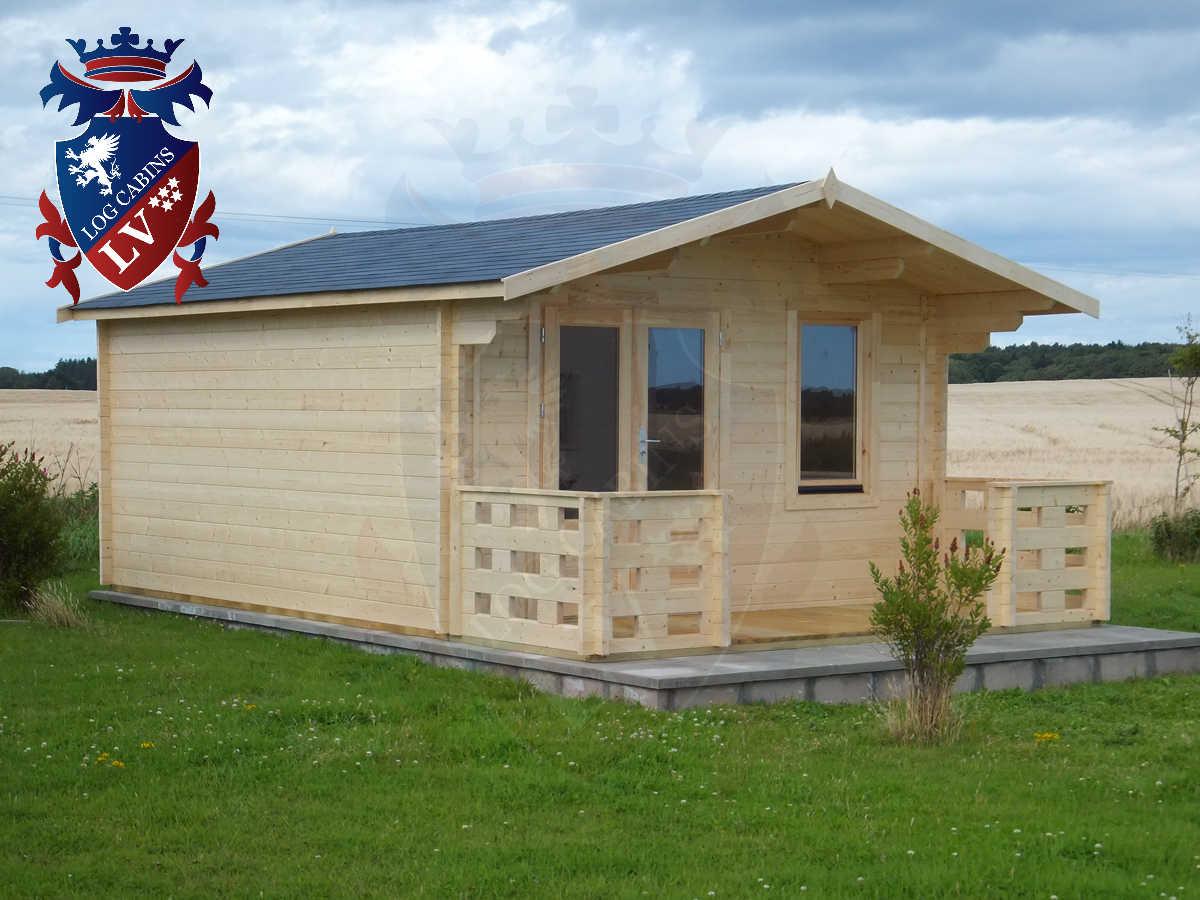 Log Cabins- Timber Buildings- Glulam Log Cabins 165