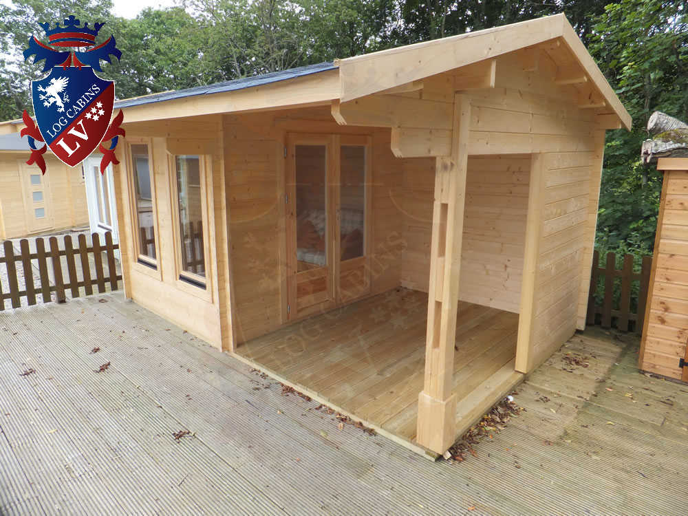 Log Cabins- Timber Buildings- Glulam Log Cabins 219