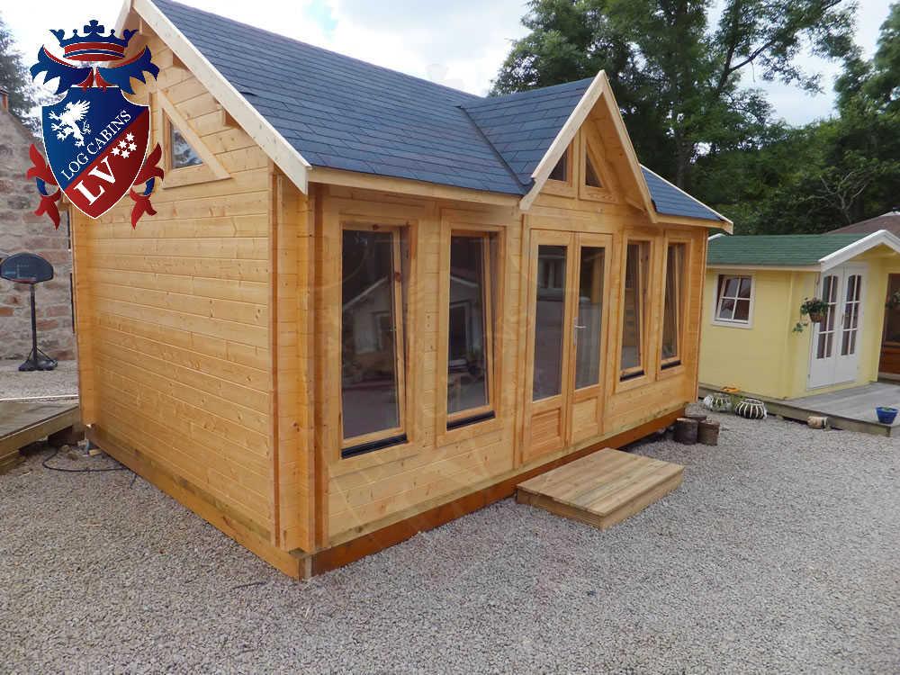Log Cabins- Timber Buildings- Glulam Log Cabins 273
