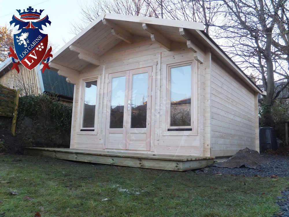 Log Cabins- Timber Buildings- Glulam Log Cabins 435