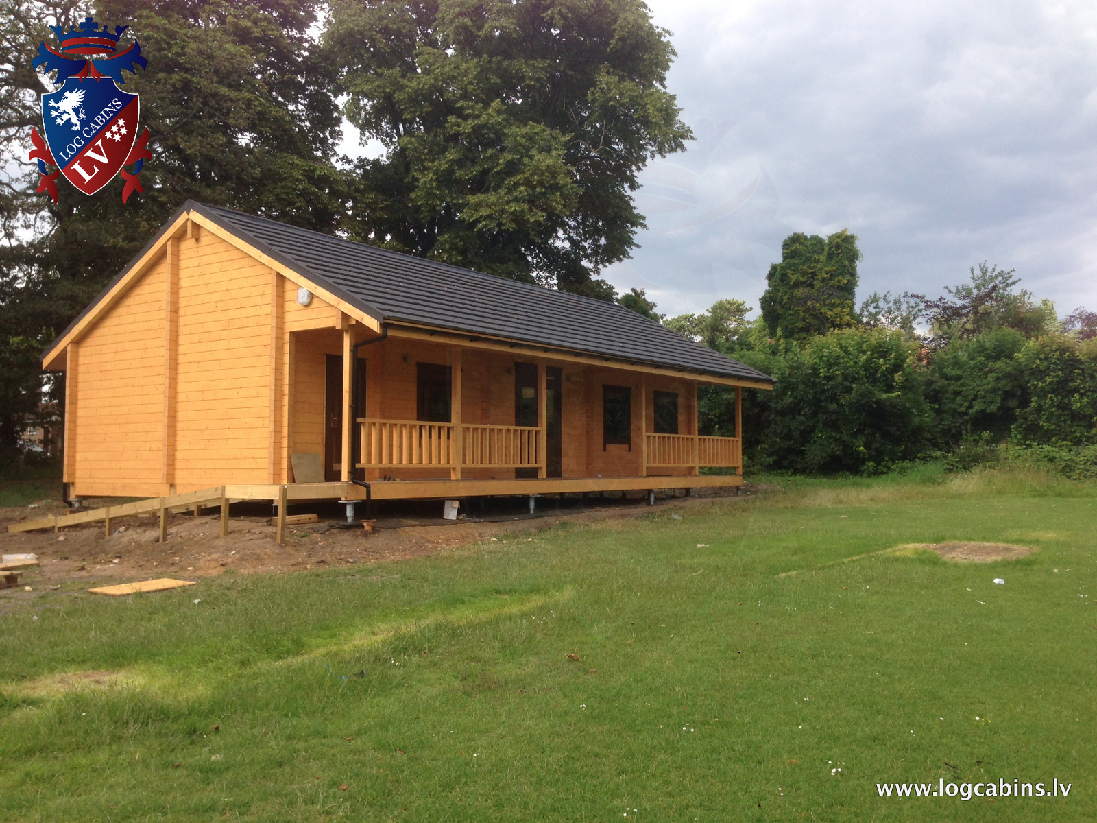 quality log cabins from log cabins.lv