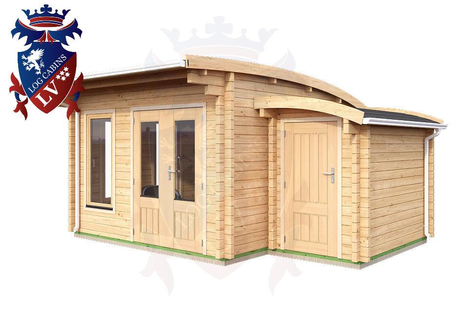 Log Cabins Under 2.5m High