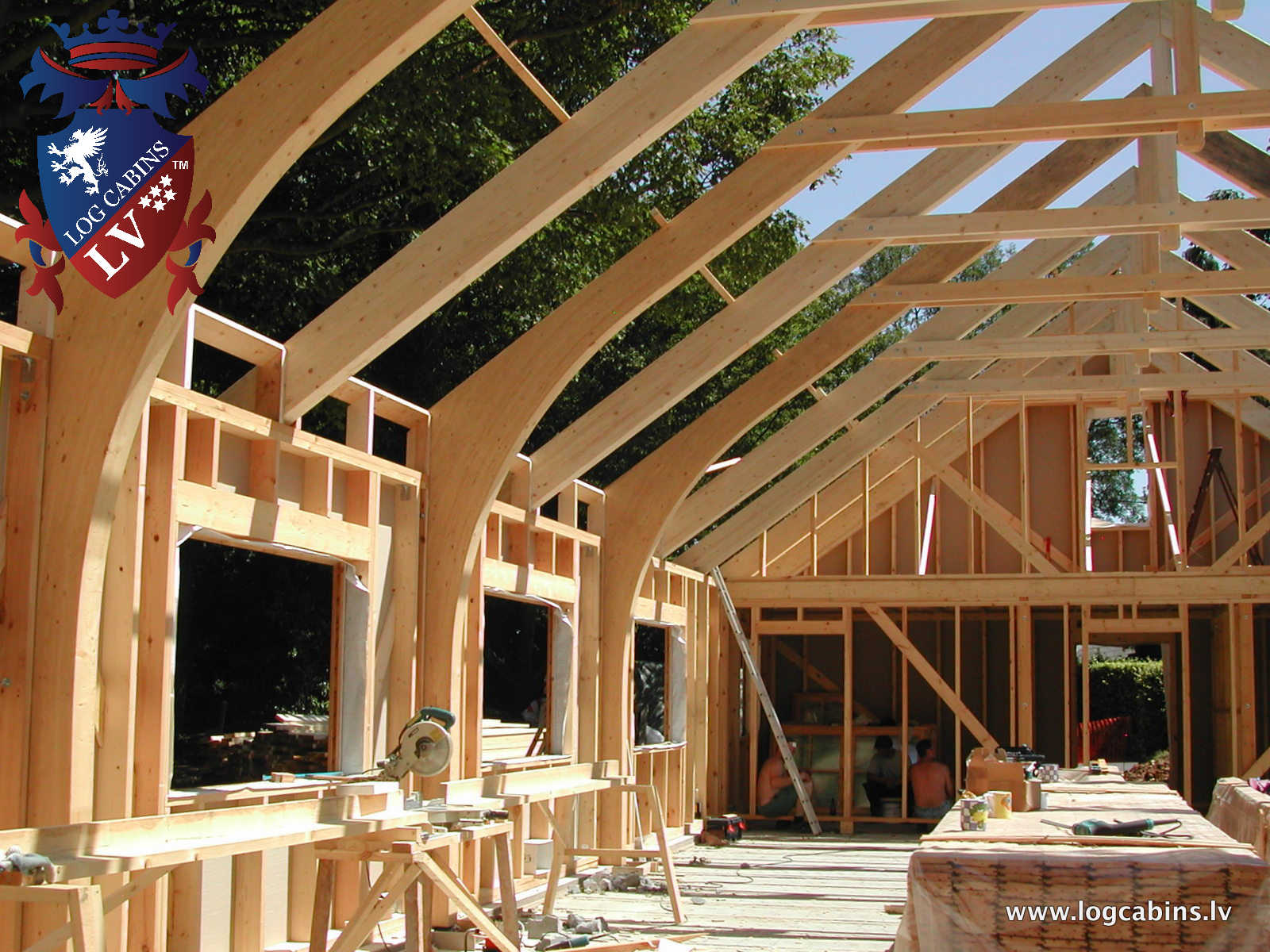 Log Cabins VS Timber Frame - Log Cabins LV Blog