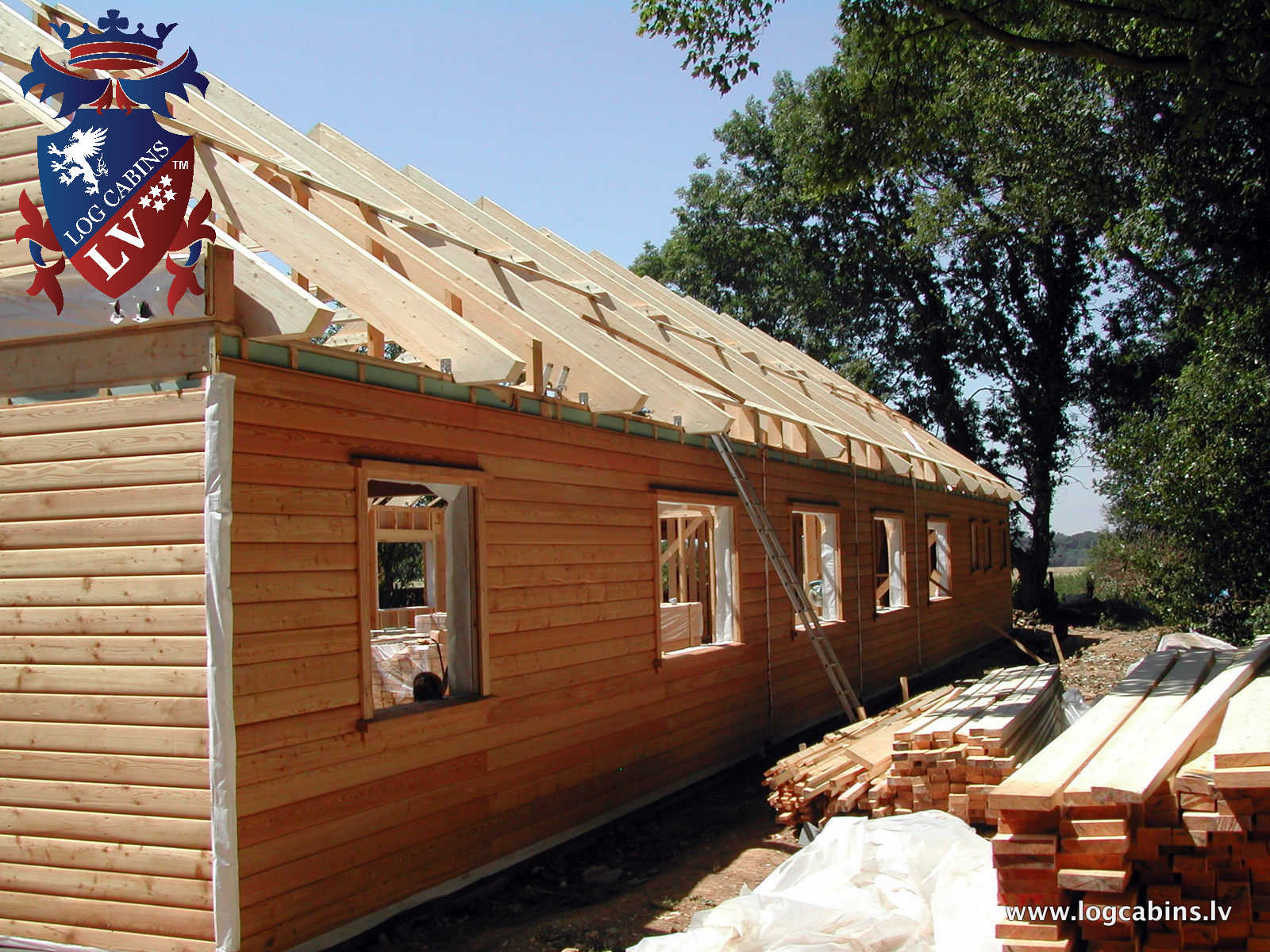 Log Cabins VS Timber Frame 2016   809