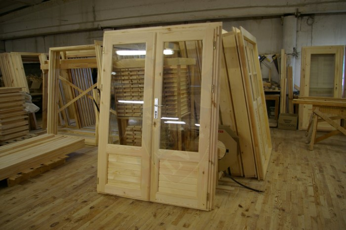 Tilt And Turn Double Glazed Log Cabins Windows And Doors