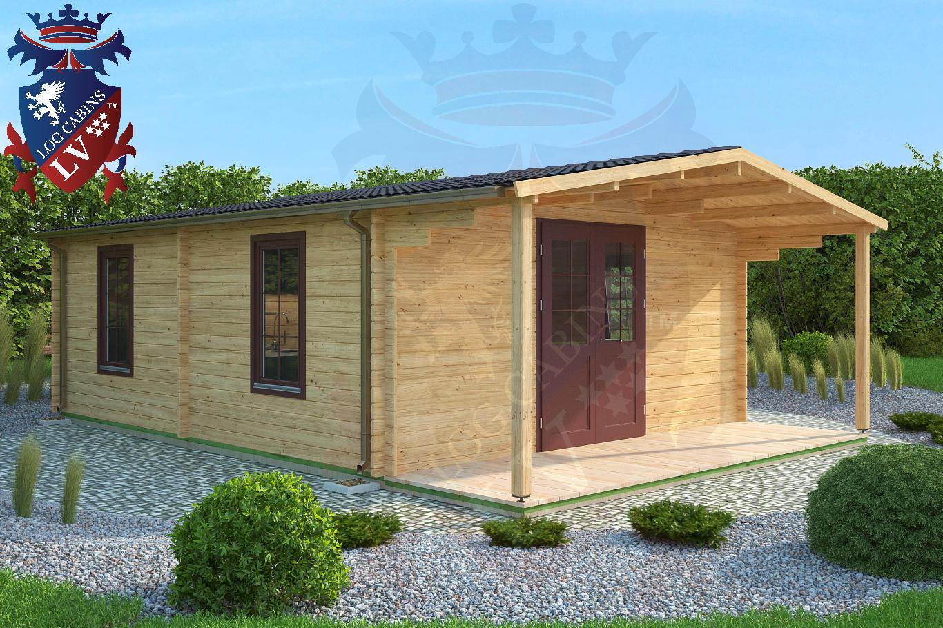 log cabins guttering