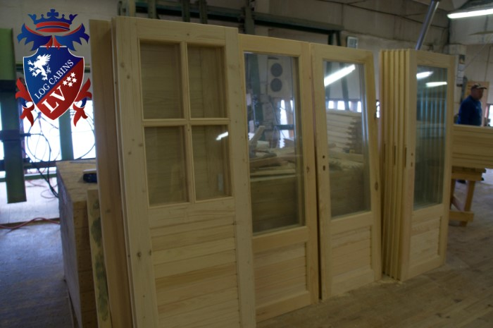 Log Cabins windows and doors 37