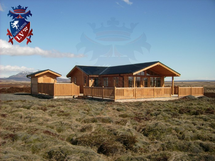 Log cabins to live in UK