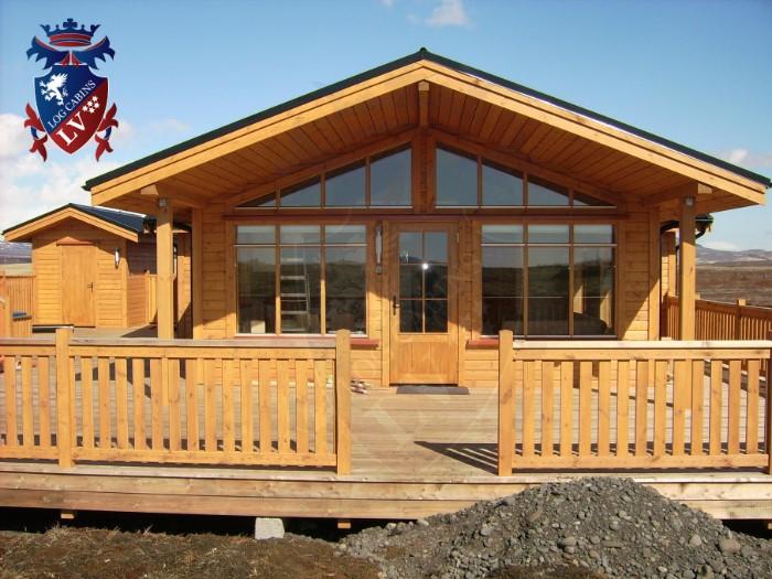 Log cabins to live in  39