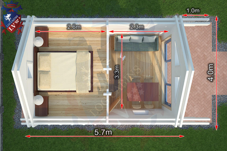 Holiday Accommodation. Micro Housing,