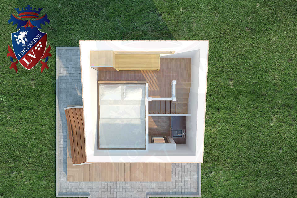 Micro House 3m x 3m   04