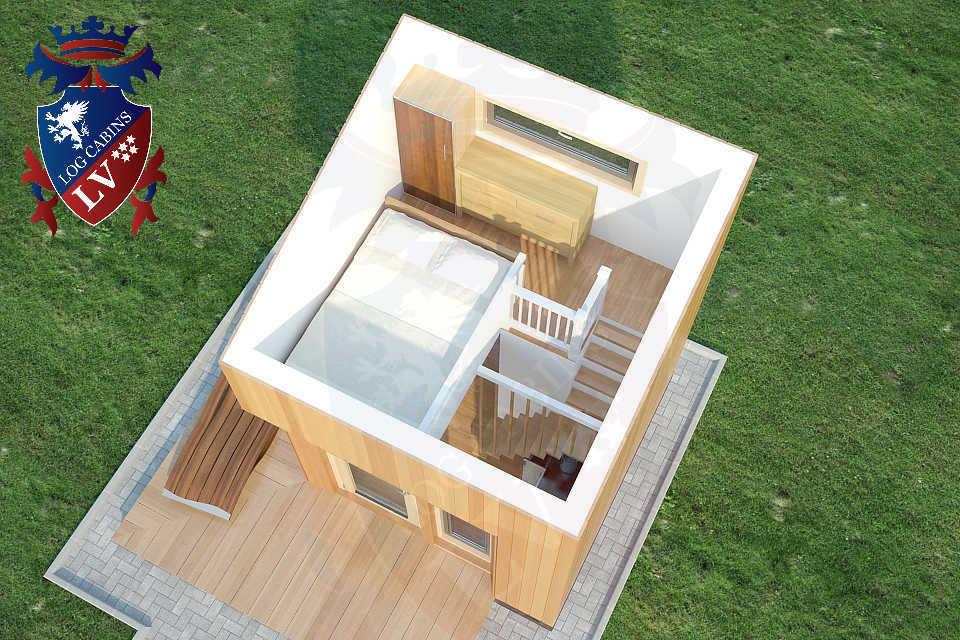 Micro House 3m x 3m   07