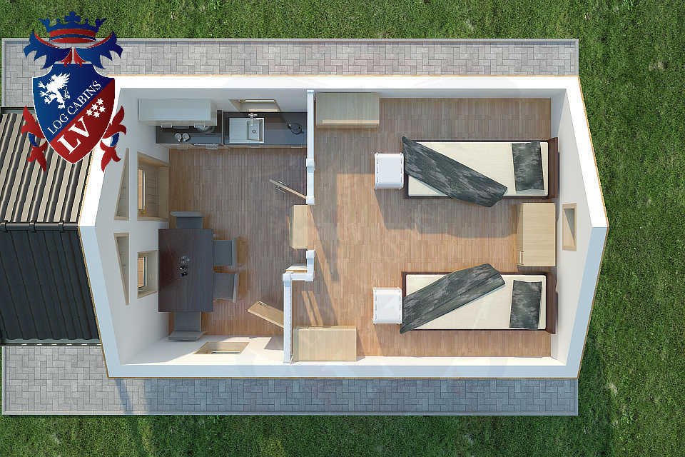 Micro Houses - Micro Homes- Micro Cabins  15