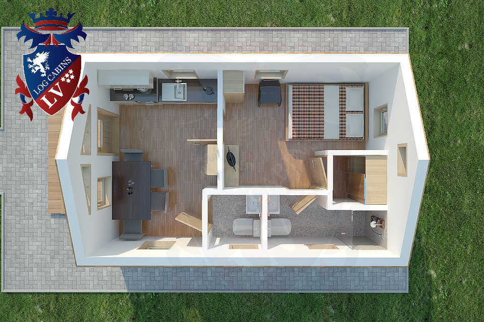 Micro Houses - Micro Homes- Micro Cabins  16