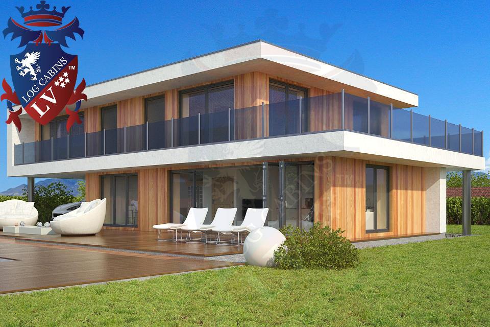 Modern Timber Frame Homes 4 Bed Energy Efficient. 02