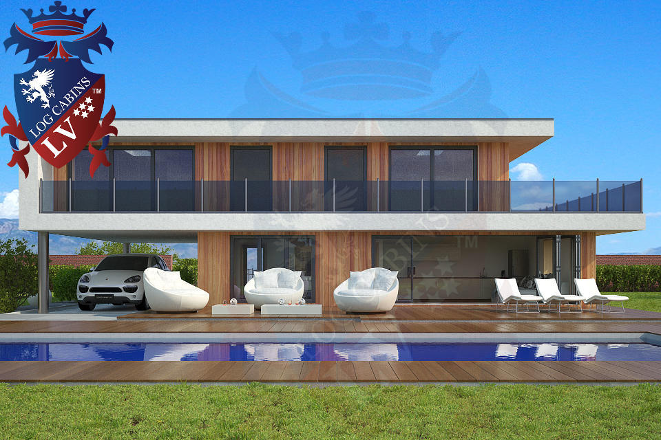Modern Timber Frame Homes 4 Bed Energy Efficient. 03