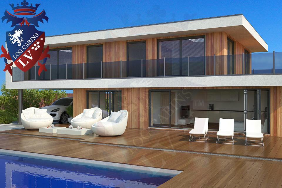 Modern Timber Frame Homes 4 Bed Energy Efficient. 04