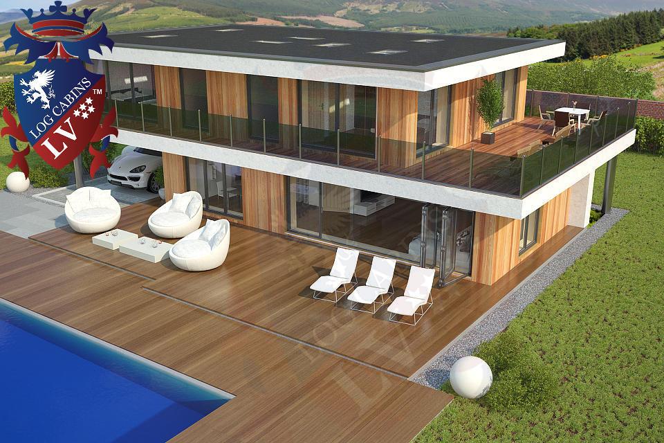 Modern Timber Frame Homes 4 Bed Energy Efficient. 05