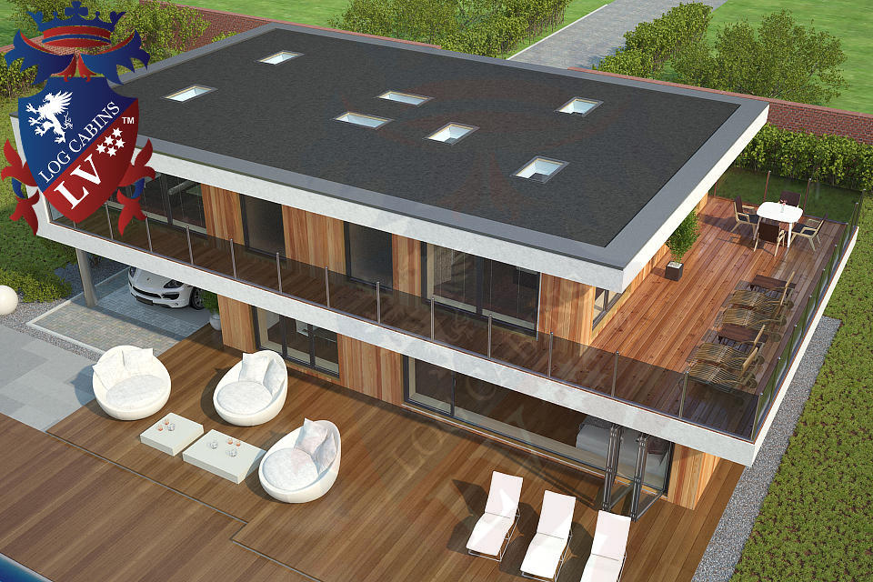 Modern Timber Frame Homes 4 Bed Energy Efficient. 06