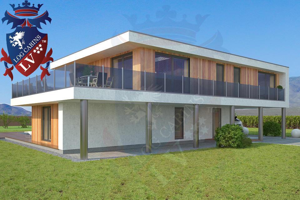 Modern Timber Frame Homes 4 Bed Energy Efficient. 07