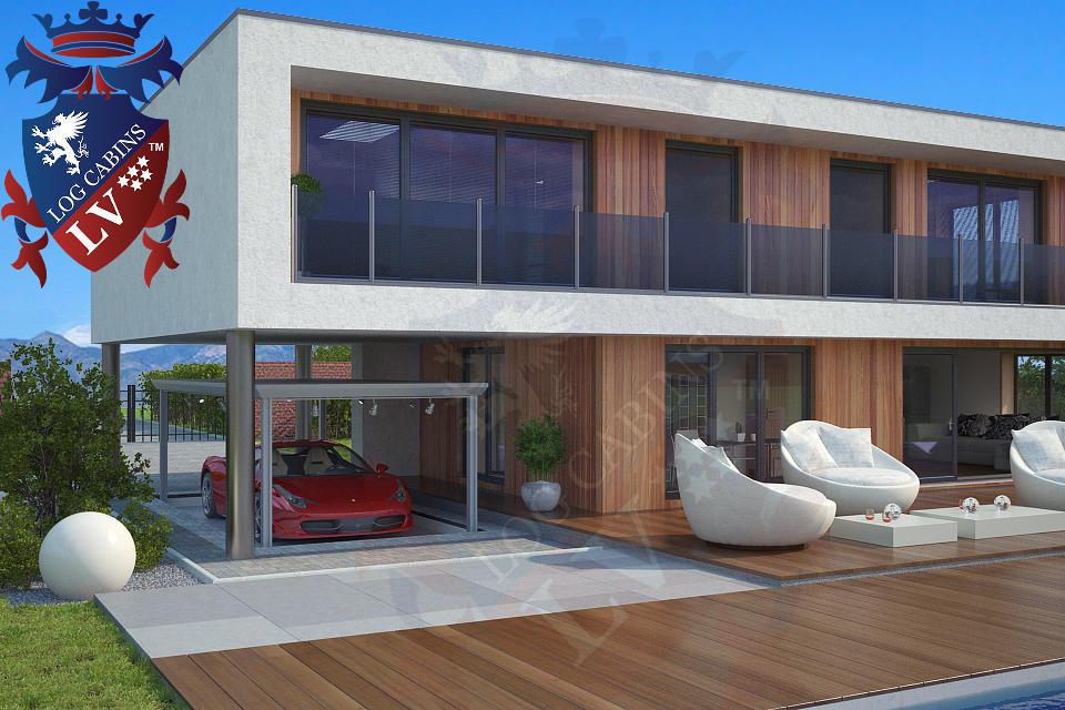Modern Timber Frame Homes 4 Bed Energy Efficient. 08