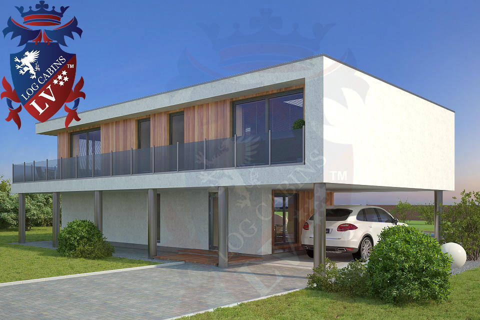 Modern Timber Frame Homes 4 Bed Energy Efficient. 10