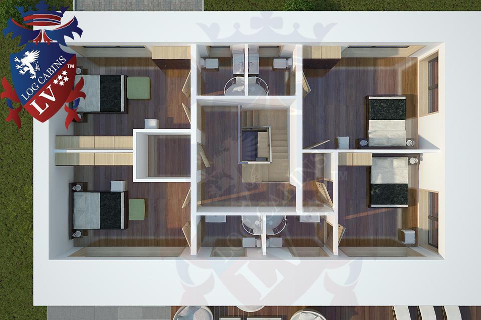 Modern Timber Frame Homes 4 Bed Energy Efficient. 11