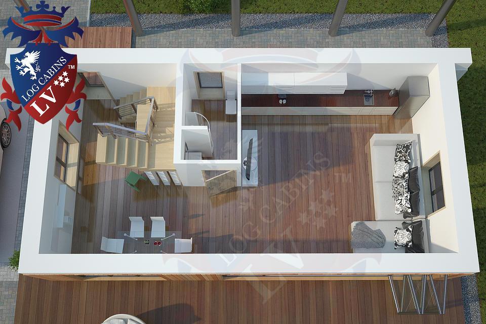 Modern Timber Frame Homes 4 Bed Energy Efficient. 12