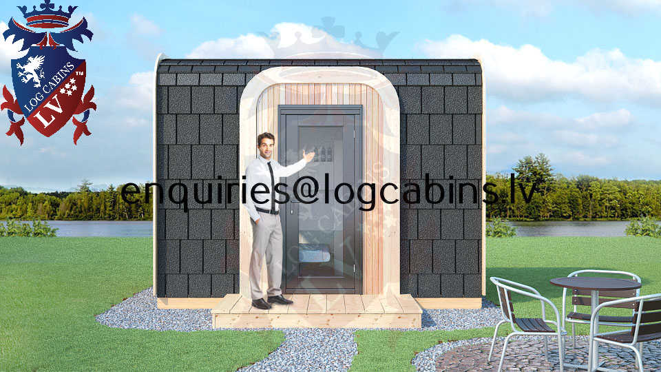 Modular Timber Frame Lodge Pod 10