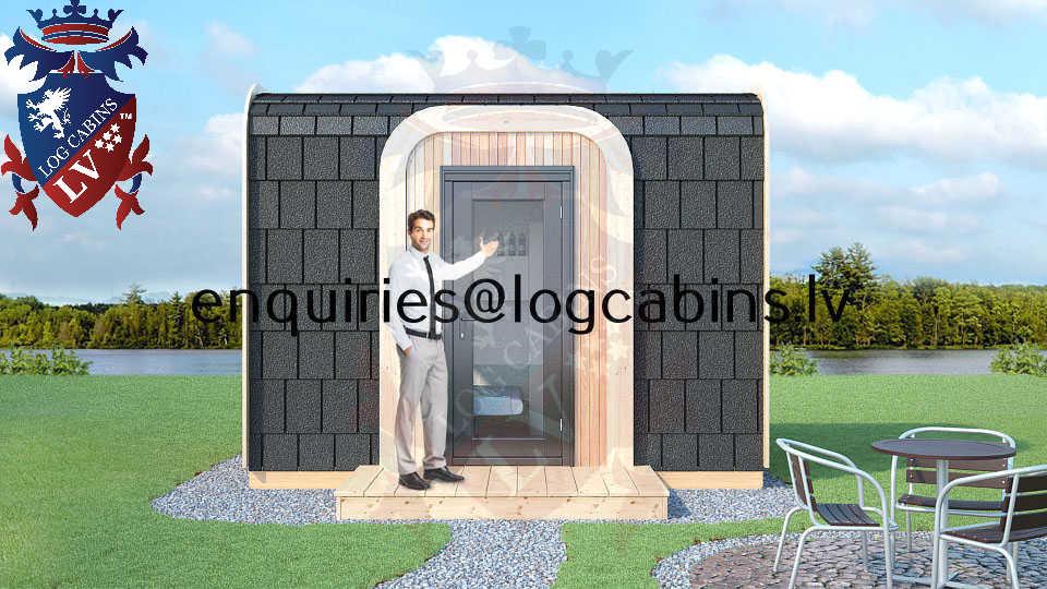 Modular Timber Frame Lodge Pod 10