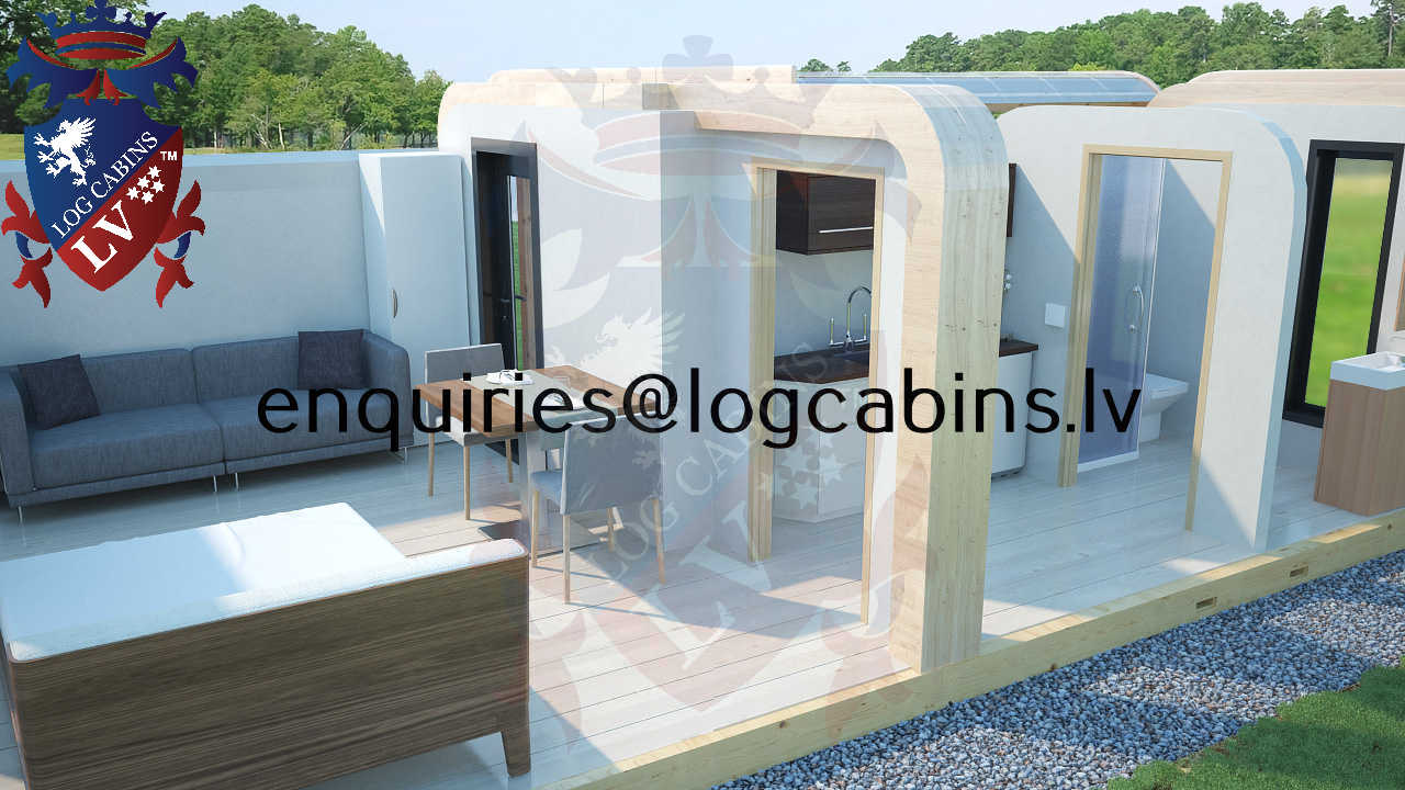 Modular Timber Frame Lodge Pod 23
