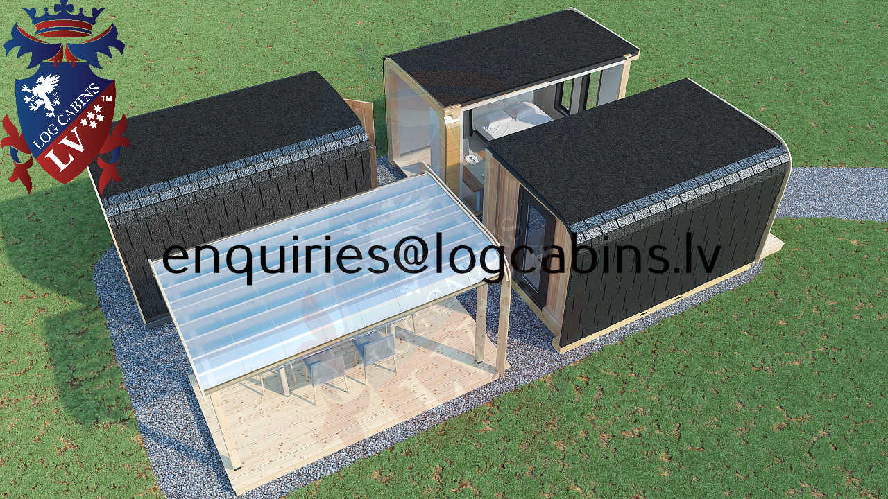 Modular Timber Frame Lodge Pod 27