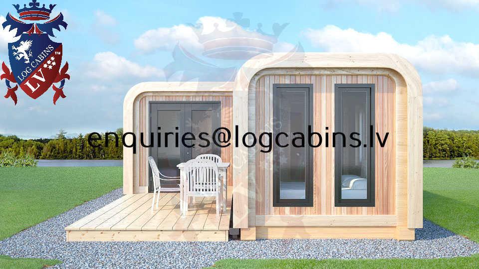 Modular Timber Frame Lodge Pod 30