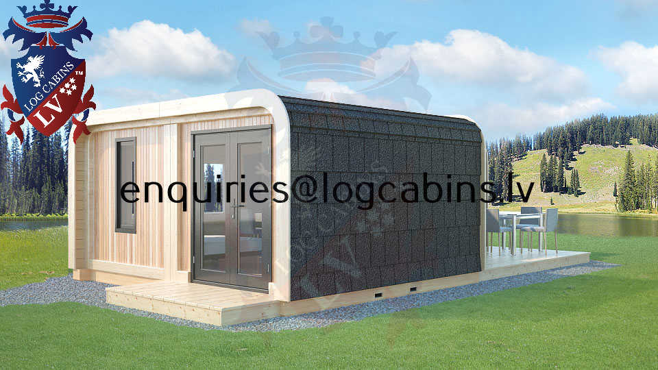 Modular Timber Frame Lodge Pod 33