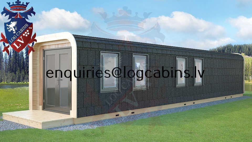 Modular Timber Frame Lodge Pod 49