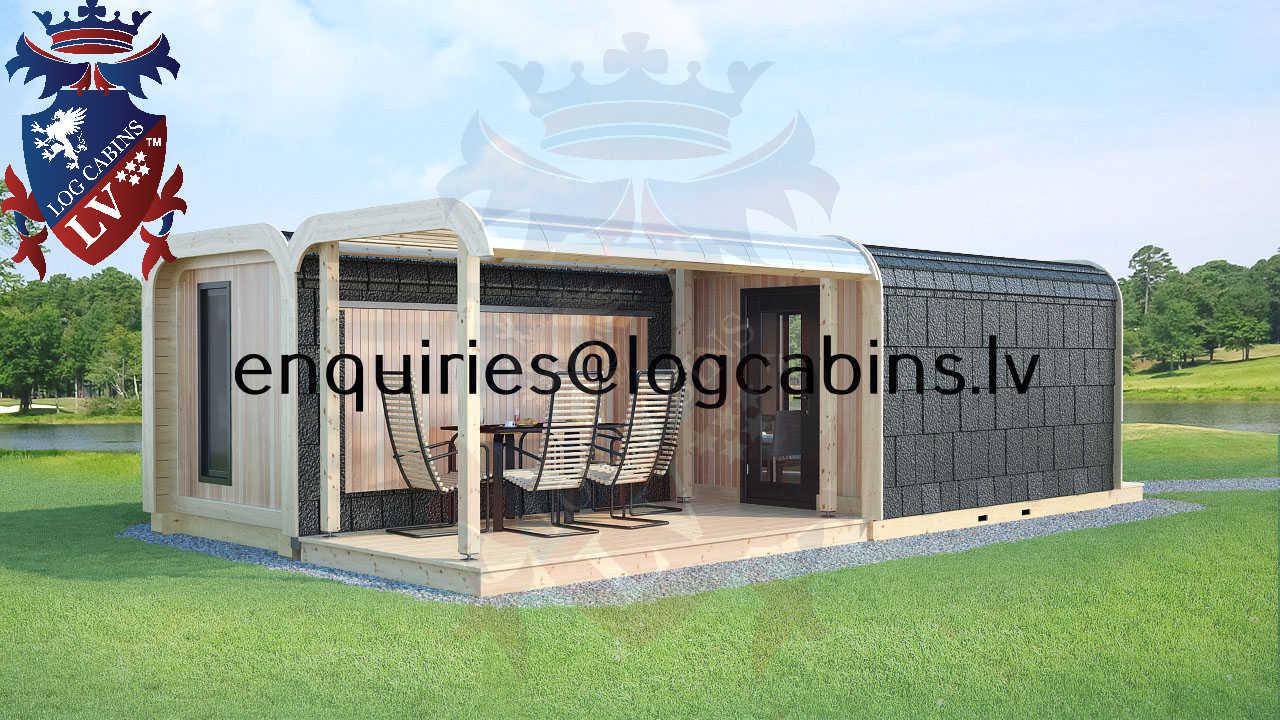 Modular Timber Frame Lodge Pod 53