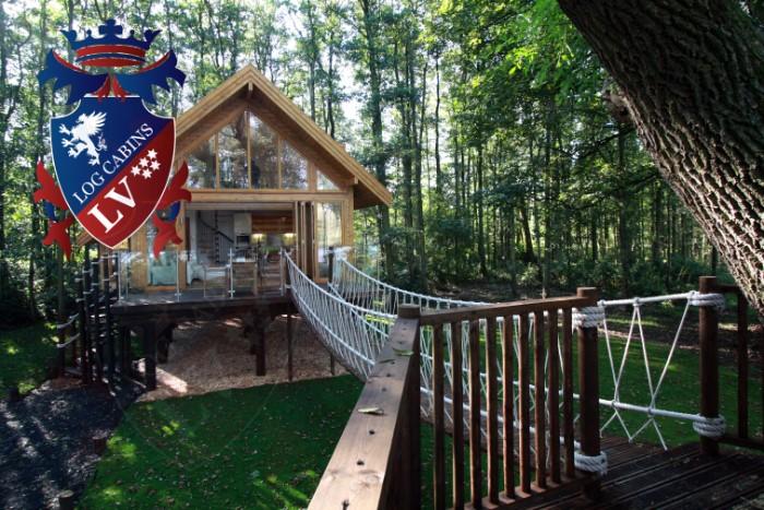 Casa plana completa, planos de casas de madera de carga, cabina paquete plano ()