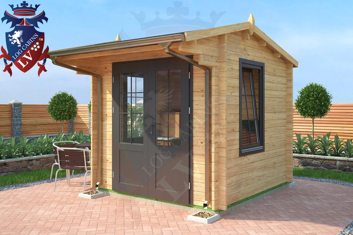 New Deluxe Standard DF Log Cabins Range for 2016