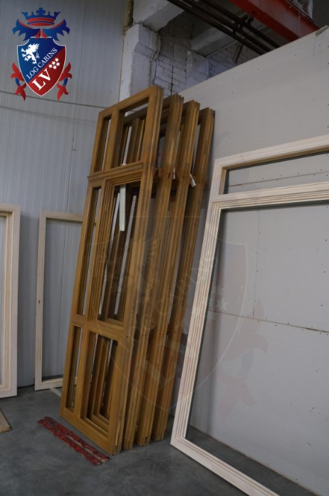 Oak Windows and Doors for log cabins- timber buildings  2015   09