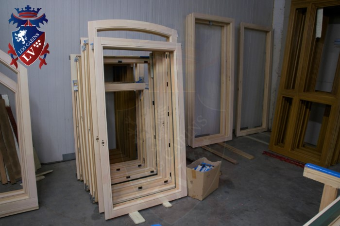 Oak Windows and Doors for log cabins- timber buildings  2015   10