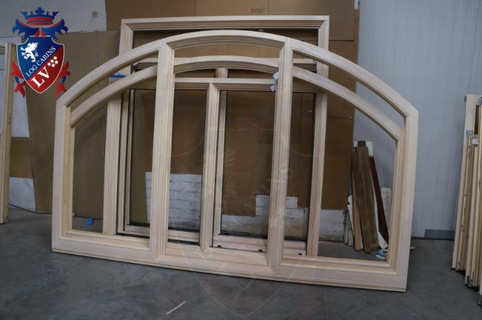 Oak Windows and Doors for log cabins- timber buildings  2015   11