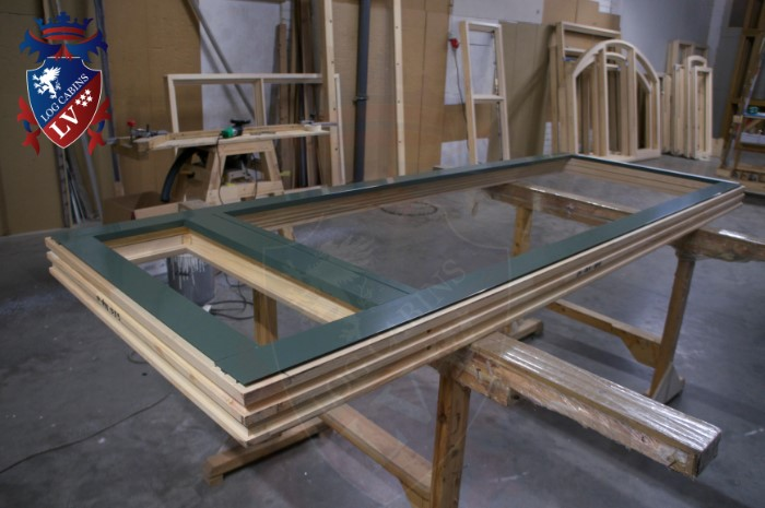 Oak Windows and Doors for log cabins- timber buildings  2015   13