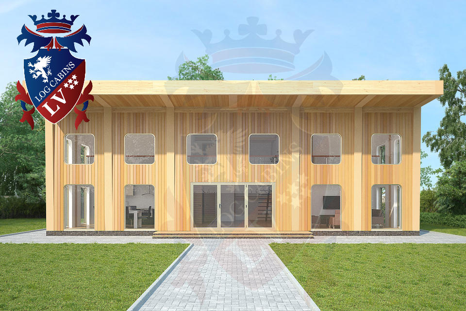Passive Housing -  www.logcabins.lv  2