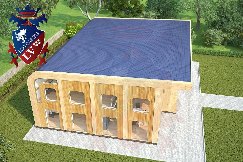 Passive Housing -  www.logcabins.lv  3