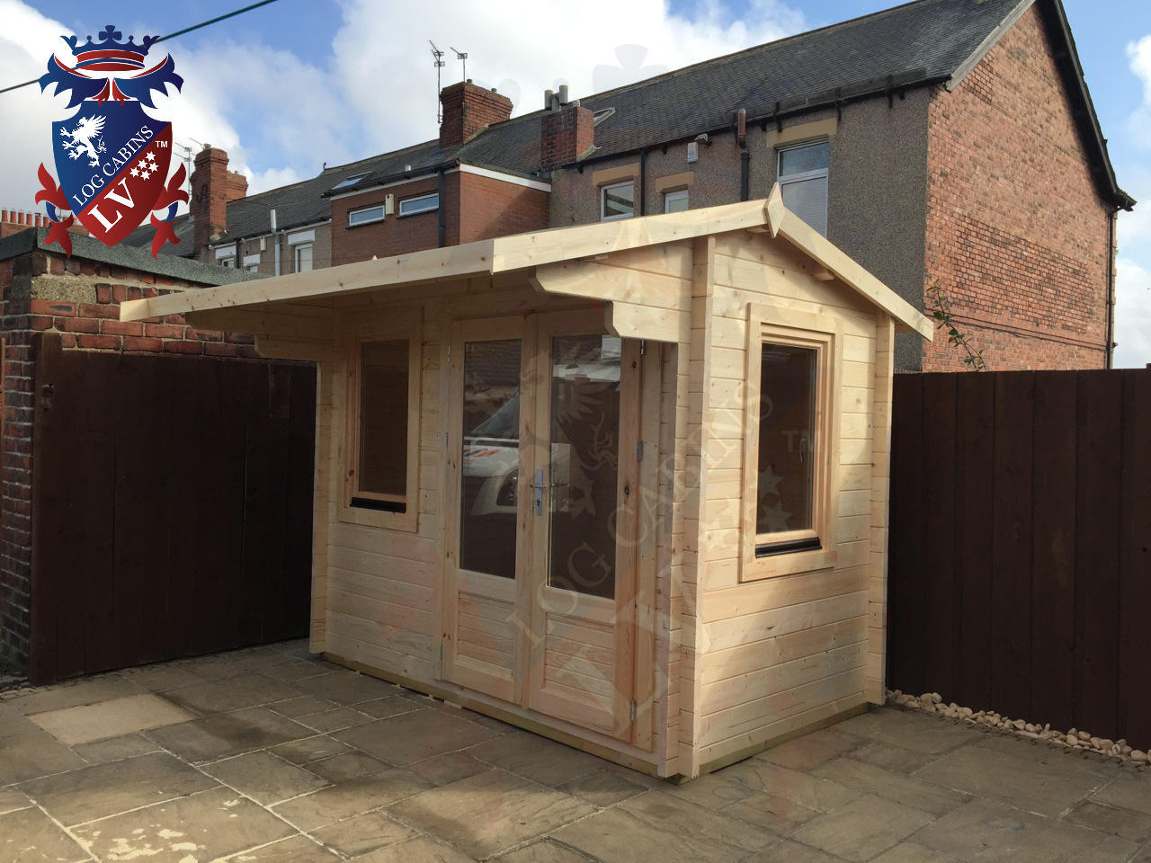 Quality Garden Log Cabins Under 2.5m High