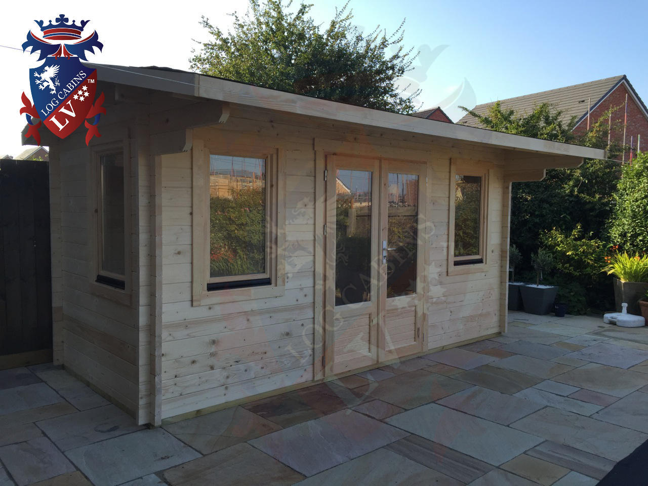 Quality Garden Log Cabins Under 2.5m High  2
