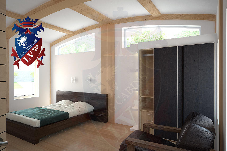 Residential Highly Insulated Park Homes by logcabins.lv   2