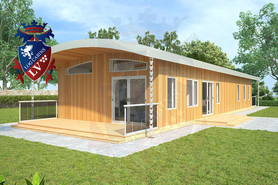 Residential Highly Insulated Park Homes by logcabins.lv   3