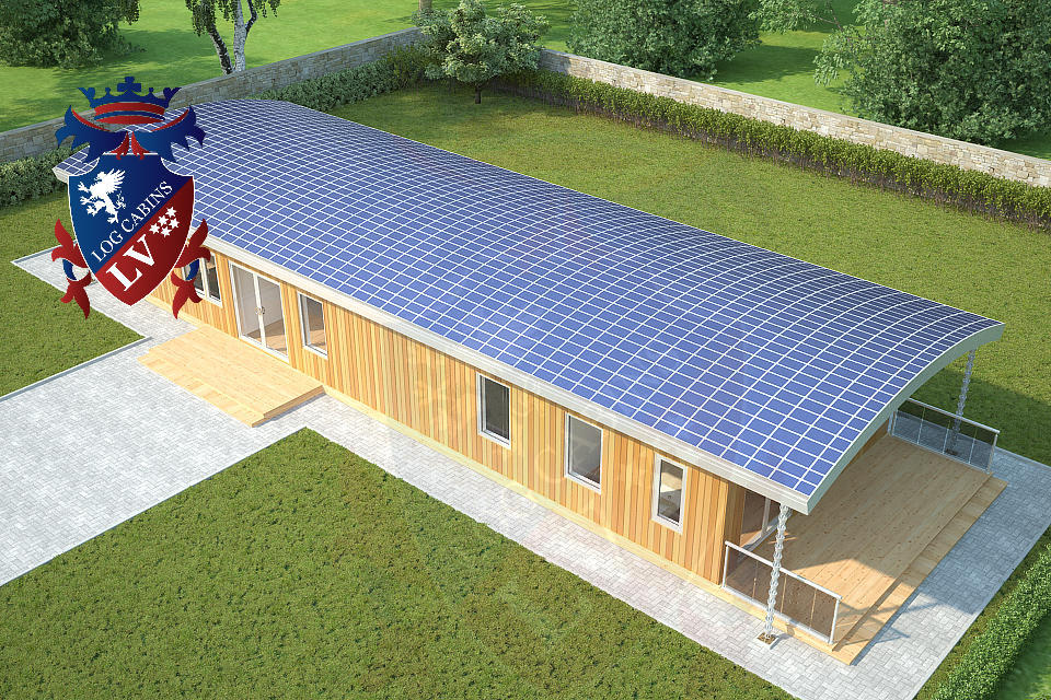 Residential Highly Insulated Park Homes by logcabins.lv   4