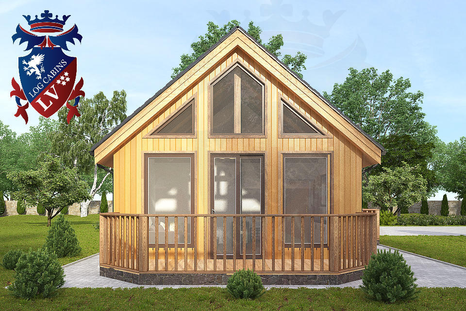 Residential Larch Cabins 13.8m x 5.5m 4